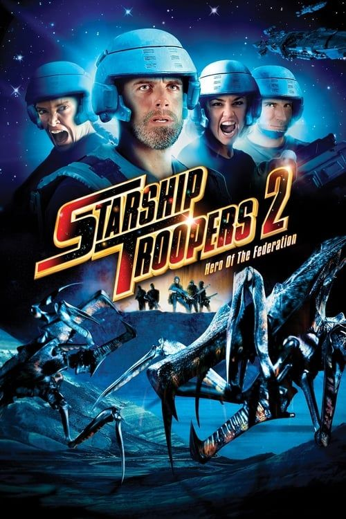 Key visual ofStarship Troopers 2: Hero of the Federation