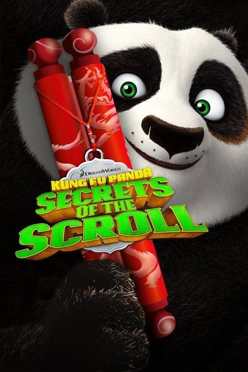 Key visual ofKung Fu Panda: Secrets of the Scroll