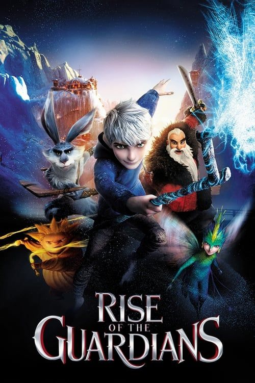 Key visual ofRise of the Guardians