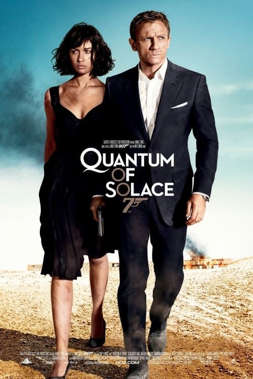 Key visual ofQuantum of Solace