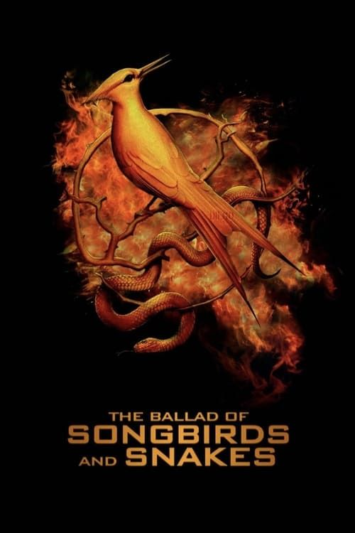 Key visual ofThe Hunger Games: The Ballad of Songbirds and Snakes