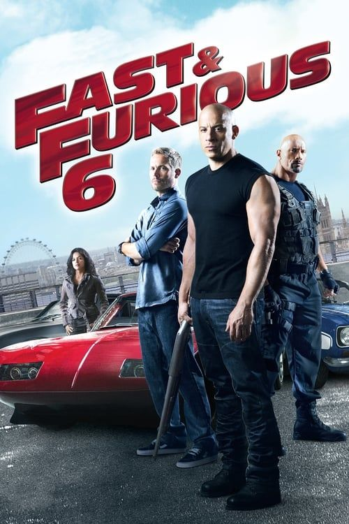 Key visual ofFast & Furious 6