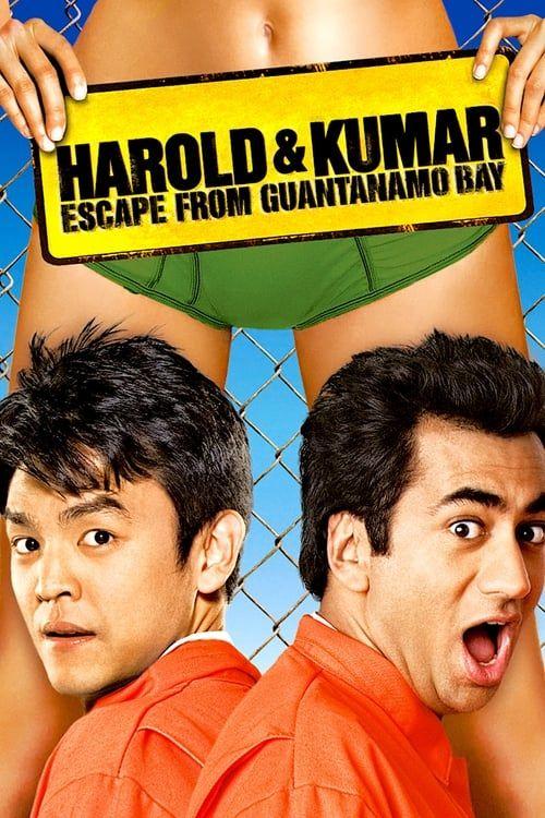 Key visual ofHarold & Kumar Escape from Guantanamo Bay