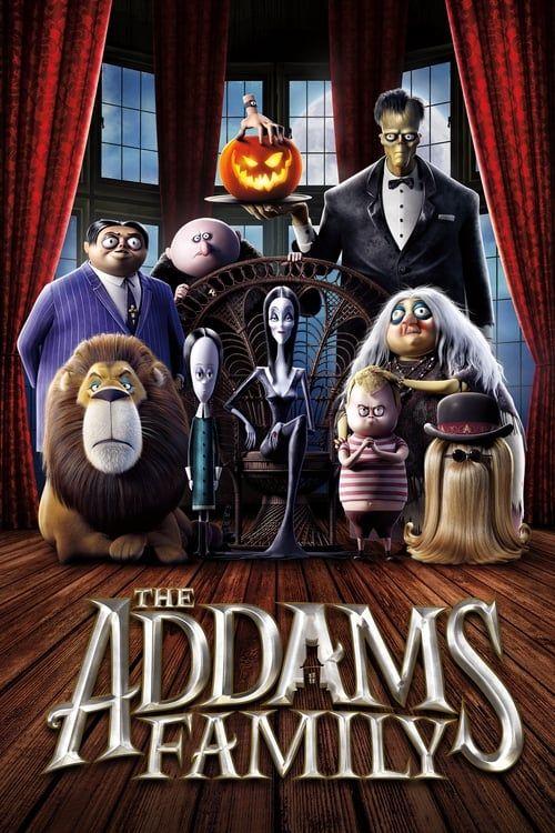 Key visual ofThe Addams Family