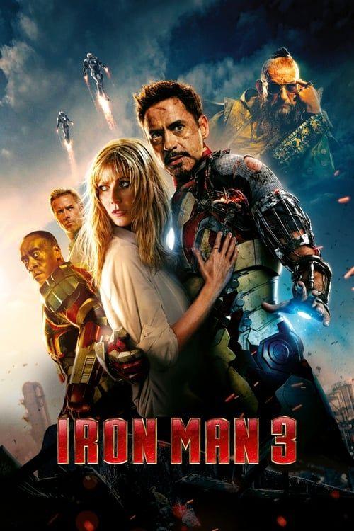 Key visual ofIron Man 3
