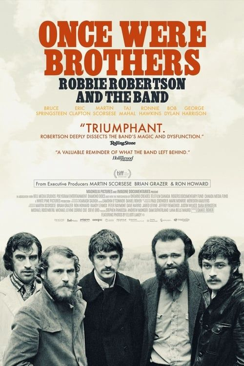 Key visual ofOnce Were Brothers: Robbie Robertson and The Band