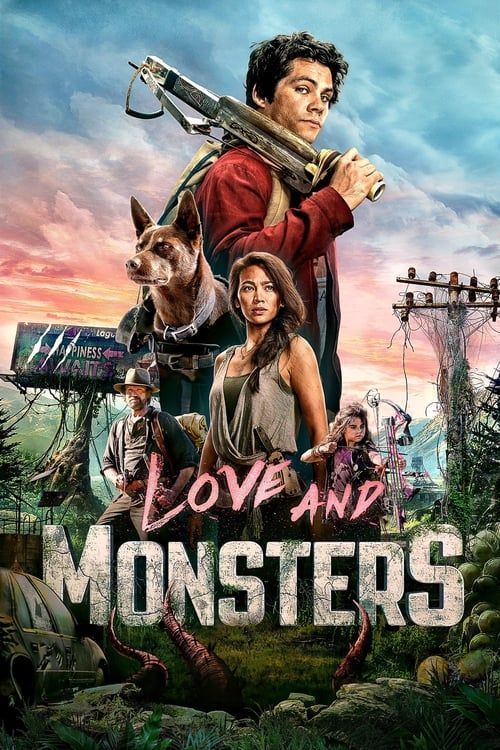 Key visual ofLove and Monsters