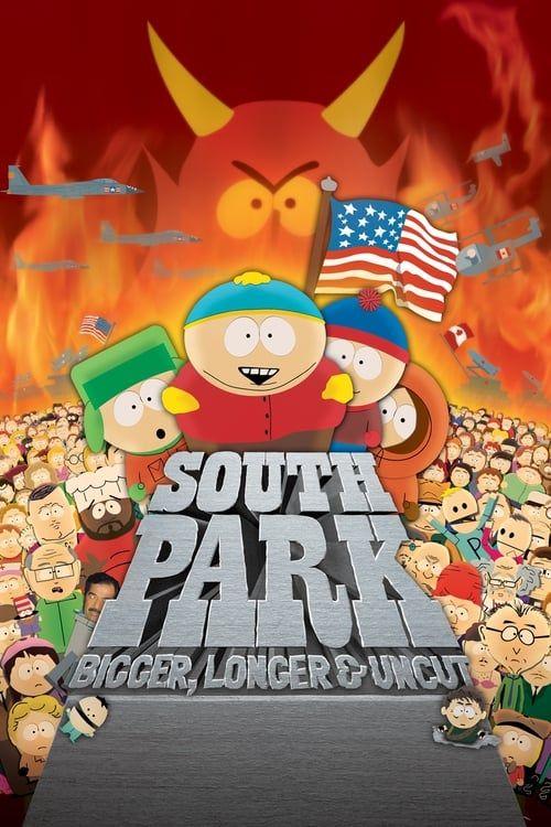 Key visual ofSouth Park: Bigger, Longer & Uncut