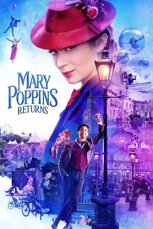 Key visual ofMary Poppins Returns