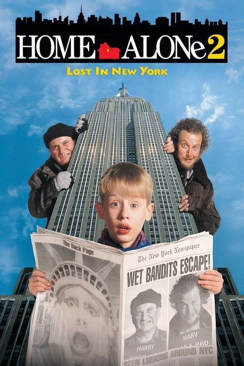 Key visual ofHome Alone 2: Lost in New York