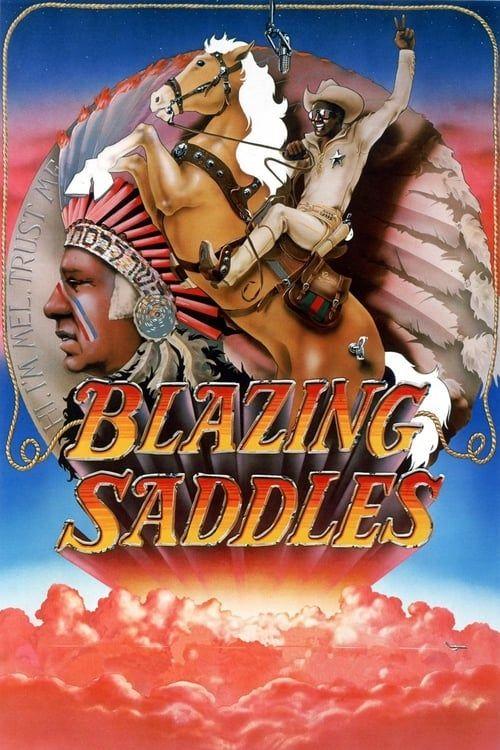 Key visual ofBlazing Saddles
