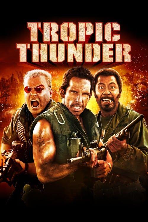 Key visual ofTropic Thunder