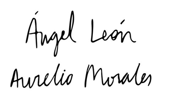 Ángel León - Aurelio Morales
