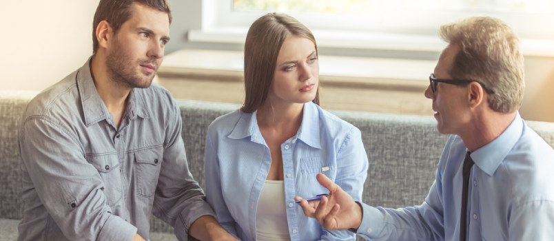 A good marriage therapist can help you both get to the root of why sex is an issue