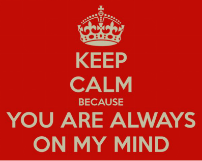 Nothing is sexier than knowing that you are always on my partner's mind