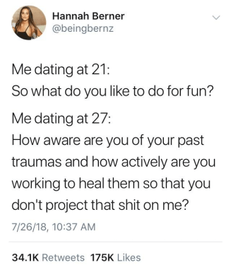 Being in a relationship is not just about having similar interests