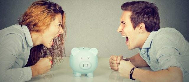 Avoid fights about money