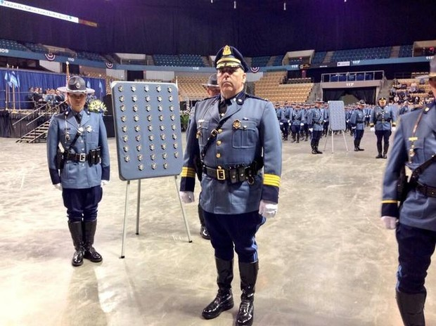 Massachusetts State Police Hold Graduation Ceremony For