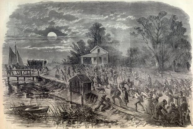 Civil War October 1861 Finds A Nation And Springfield