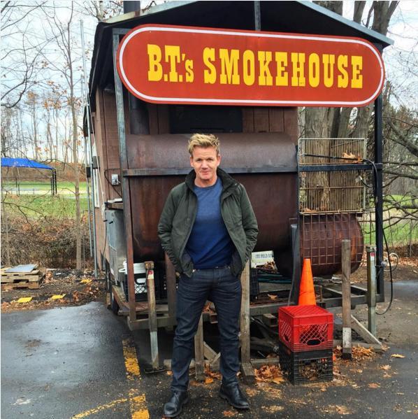 Sturbridges BTs Smokehouse Gets High Praise From Celebrity Chef Gordon Ramsay