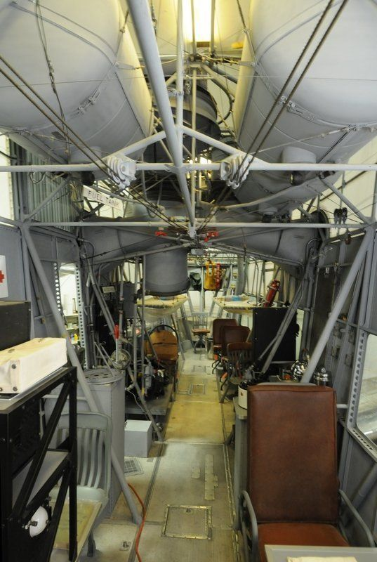 Restoration Of Sole Surviving World War II Goodyear Blimp Control Car Nearing Completion After