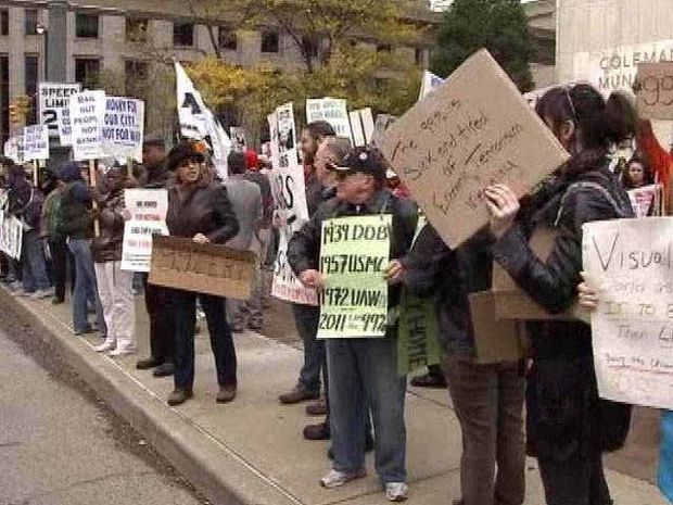 Occupy Detroit Planning To Build Tent City In Detroits