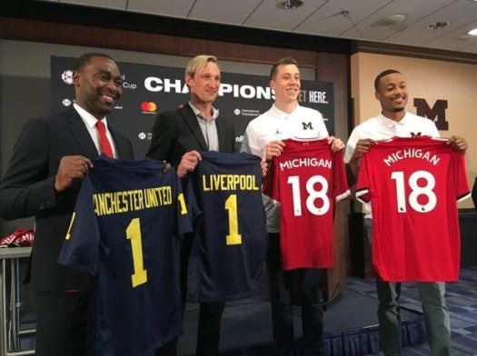 """2018 ICC: Manchester United vs. Liverpool a """"Michigan-Ohio ..."""