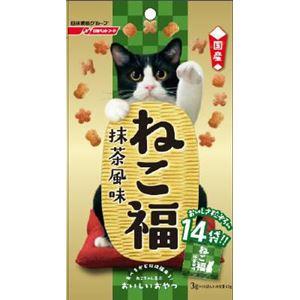 (まとめ)日清ペットフード ねこ福 抹茶風味 42g 【猫用・フード】【ペット用品】【×30セット】