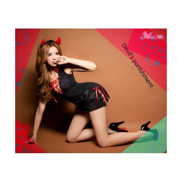 ハロウィン小悪魔デビルコスチューム z1164  ハロウィン コスプレ 衣装店