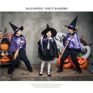 ハロウィン 衣装 子供 コスプレ 魔女 マント 魔法使い キッズ コスプレ衣装 子供 男の子 女の子 かわいい 仮装