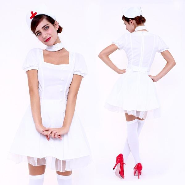【コスプレ】CLUB QUEEN Sweet Nurse(スウィートナース)  ハロウィン コスプレ 衣装店