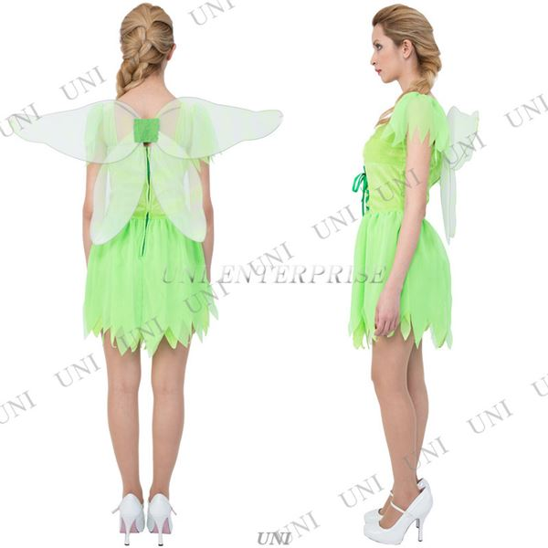 【コスプレ】CLUB QUEEN Lime Fairy(ライムフェアリー)  ハロウィン コスプレ 衣装店