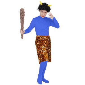 コスプレ衣装/コスチューム 【青鬼スタンダード】 ボディースーツ パンツ ウィッグ付き 『Patymo』 〔ハロウィン イベント〕