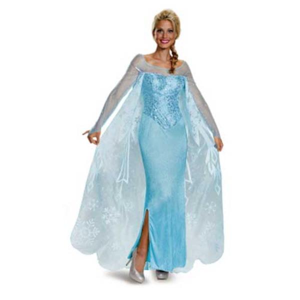 ディズニー DISNEY アナと雪の女王 エルサ コスチューム 大人M ハロウィン コスプレ 衣装店