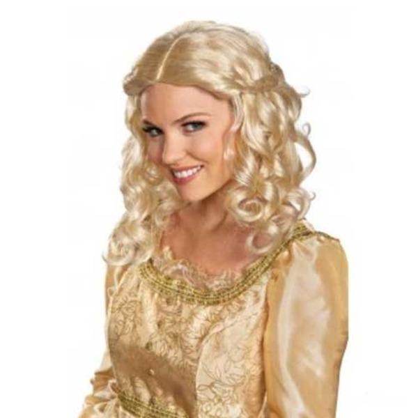 ディズニー DISNEY 眠れる森の美女 オーロラ姫 大人用 ウィッグ ハロウィン コスプレ 衣装店