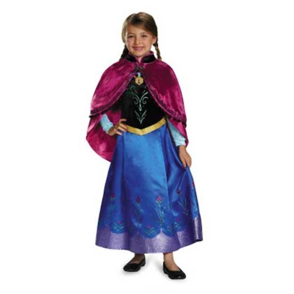 ディズニー DISNEY アナと雪の女王 アナ 旅の衣装 子供用S コスチューム  ハロウィン コスプレ 衣装店
