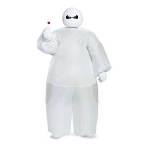 ディズニー DISNEY ベイマックス 膨張式 子供用 コスチューム White Baymax Inflatable 90921