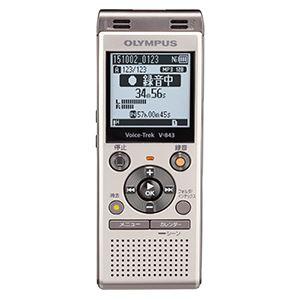 オリンパス ICレコーダー Voice-Trek (シャンパンゴールド) V-843 GLD