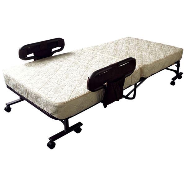 マットが選べる!手動・折りたたみベッド
