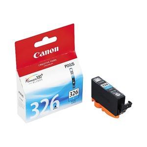 (業務用5セット)【純正品】 Canon キャノン インクカートリッジ/トナーカートリッジ 【BCI-326C C シアン】 ×5セット