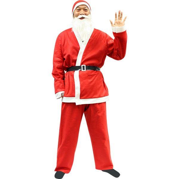 【クリスマスコスプレ 衣装 まとめ買い5着セット】P×P メンズサンタクロース サンタコスプレ男性用 5点セット ハロウィン コスプレ 衣装店