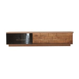 テレビ台(テレビボード/TVボード) 木製 【幅150cm:42型〜65型対応】 ソフトクロージング機能 日本製 ILL ウォーカー ブラウン