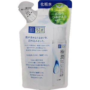 ロート製薬 肌ラボ 極潤ヒアルロン液 つめかえ用 170mL × 3 点セット