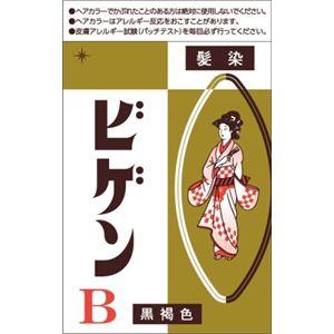 ホーユー ビゲン B 自然な黒褐色 × 10 点セット