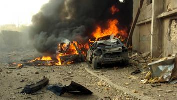 Mueren tres niños por explosión de coche-bomba en Libia