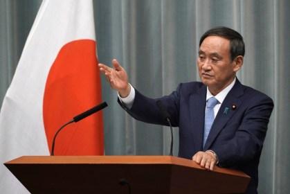 كبير متحدثي الحكومة اليابانية يوشيهيديه سوغا | عبر وكالة إي بي