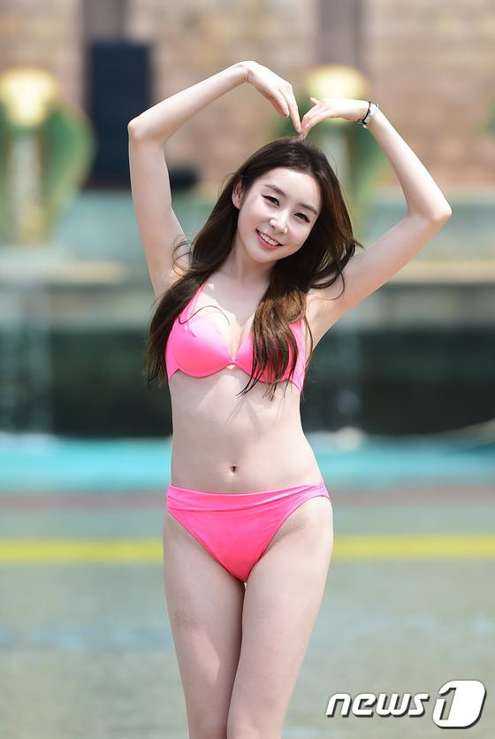 스텔라 가영, '핑크빛 하트~'