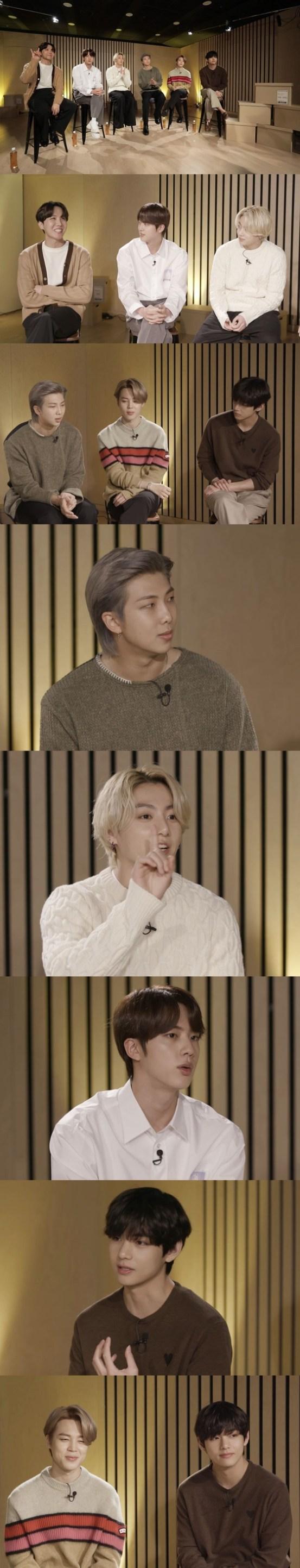 "[N컷] '아카이브 K'BTS ""빌보드 뮤직 어워드 첫 입상 너무 무서웠 어"""