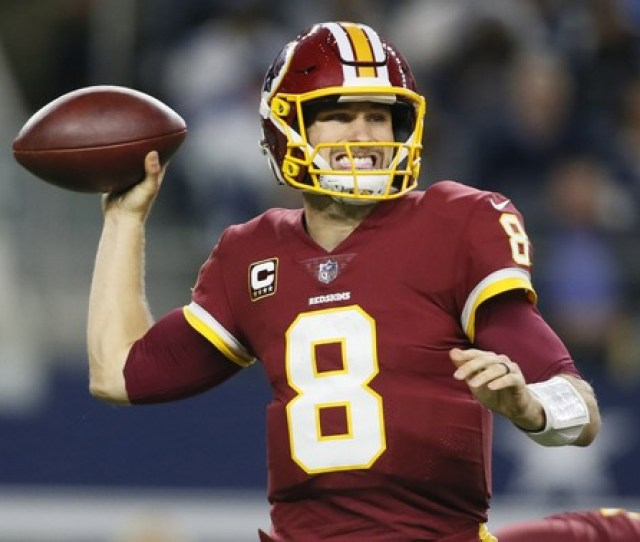 The Washington Redskins Are Set To Let Quarterback Kirk Cousins Walk In Free Agency