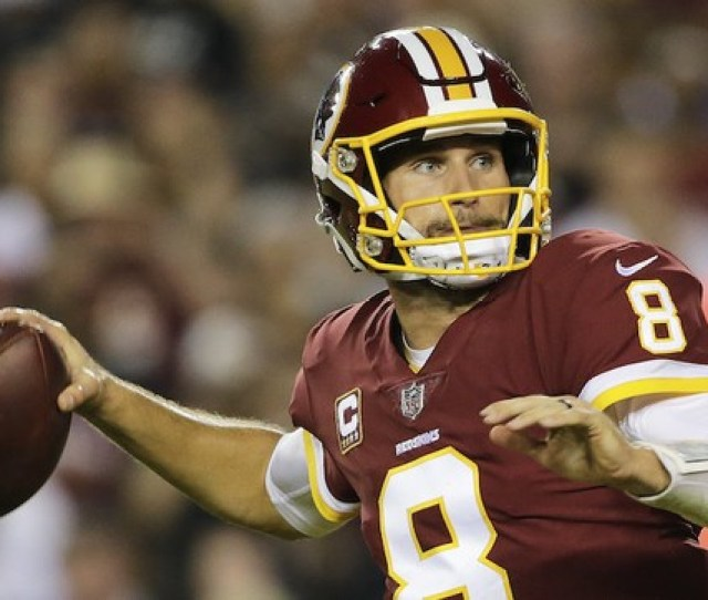 Washington Redskins Quarterback Kirk Cousins Will Lead His Team Against The Winless San Francisco Ers On